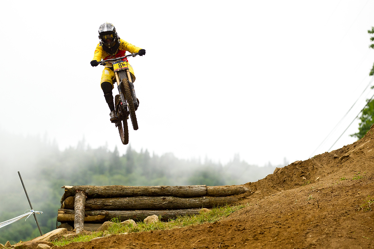 ,during the 4th UCI World Cup DH, Mt St Anne, Canada.