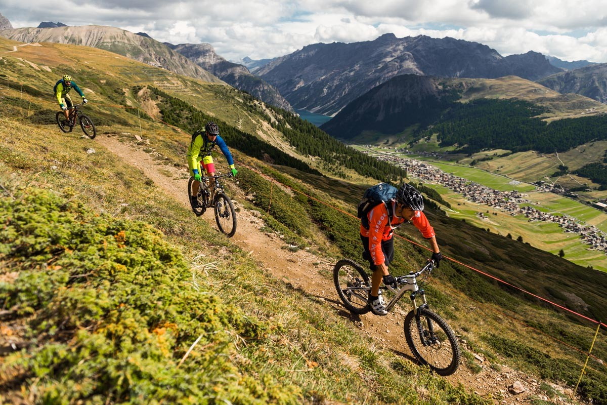 Livigno Mountainbike, Photo by Bartek Wolinski