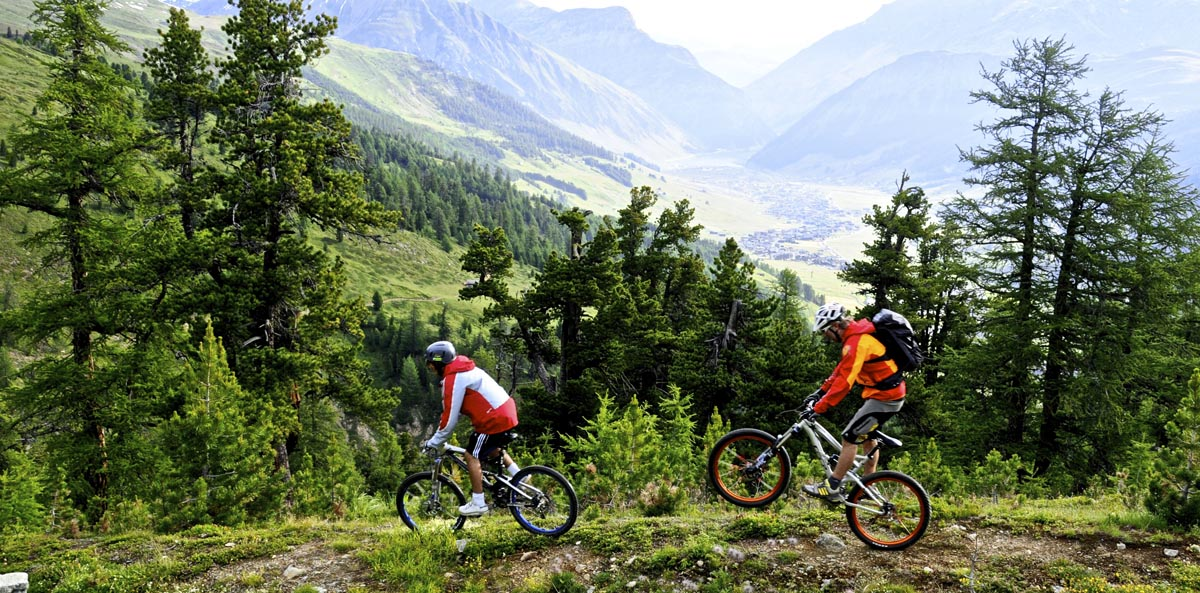 Livigno Mountainbike, Photo by C. Freeman