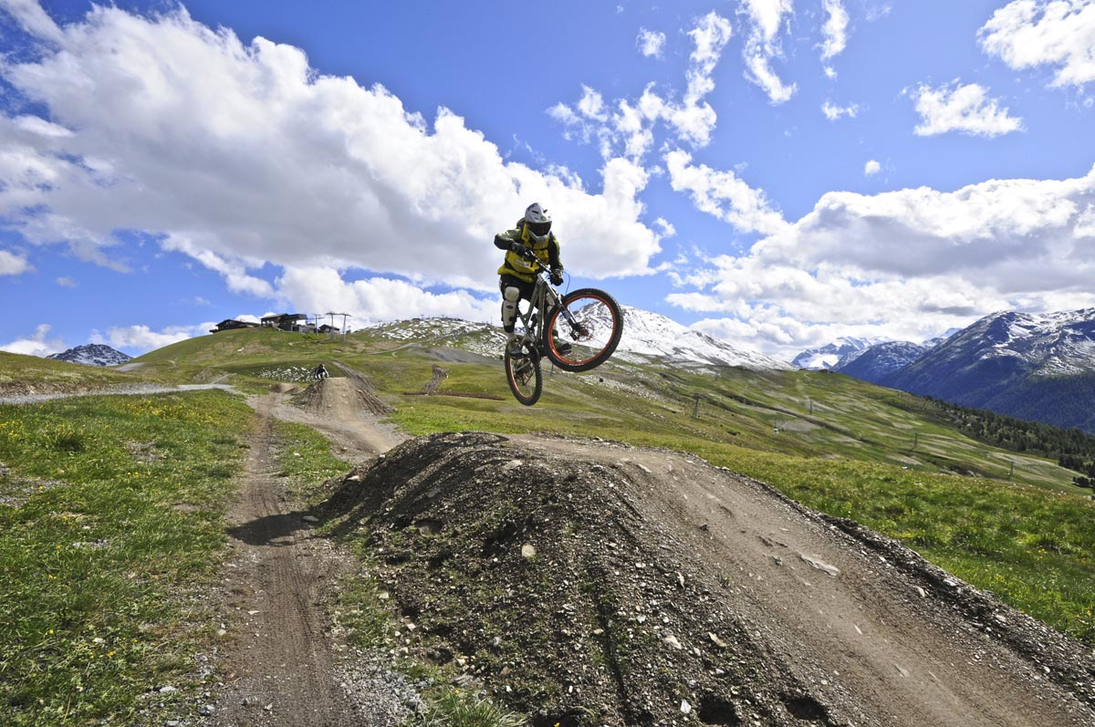 Livigno Mountainbike, Photo by C.Freeman