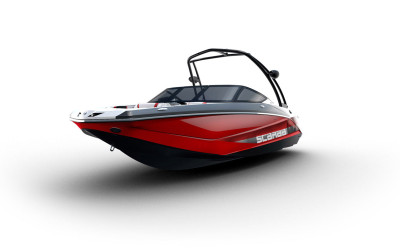 Scarab 215 Impulse, Laser Red