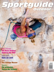 Sportguide Outdoor, Ausgabe 3/2016, Cover