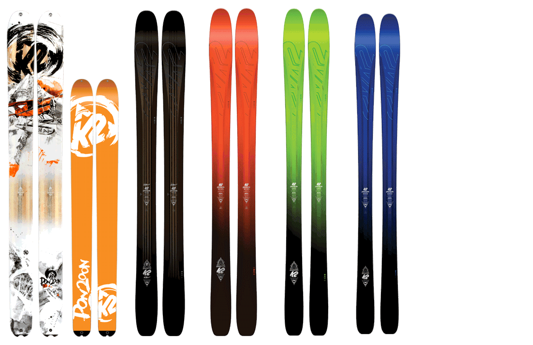 Bild K2 Palette Freeride Pinnacle 2017