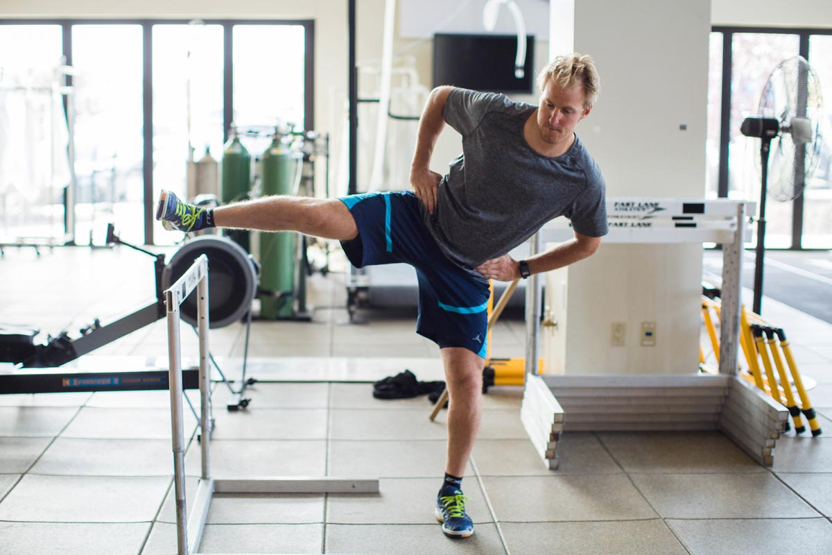Ted Ligety beim Training